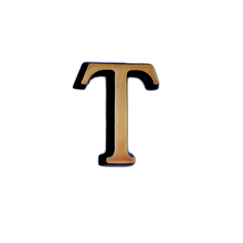 Litere Bronz Roman T 4 cm