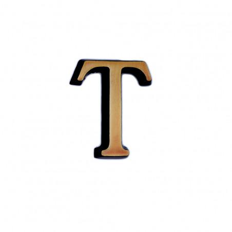 T Roman betutipus bronz m 4cm