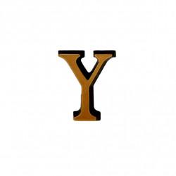 Litere Bronz Roman Y 3 cm