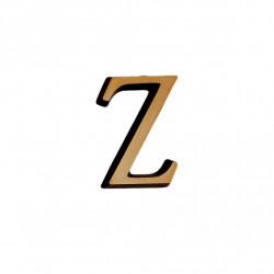 Litere Bronz Roman Z 2 cm