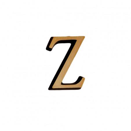 Litere Bronz Roman Z 4 cm