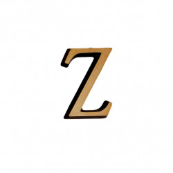 Litere Bronz Roman Z 5 cm