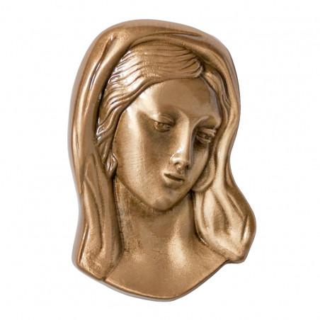 Bronz Maria Aplikacio 11 cm