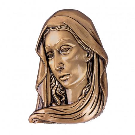 Figura Fecioara Maria Bronz  8 x 6 cm