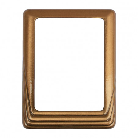 Bronz Keret Negyszogletes 11 x 15 cm