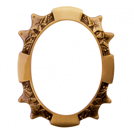 Bronz Keret Ovalis 11 x 15 cm