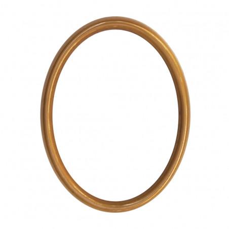Bronz Ovalis Keret 11x15 cm