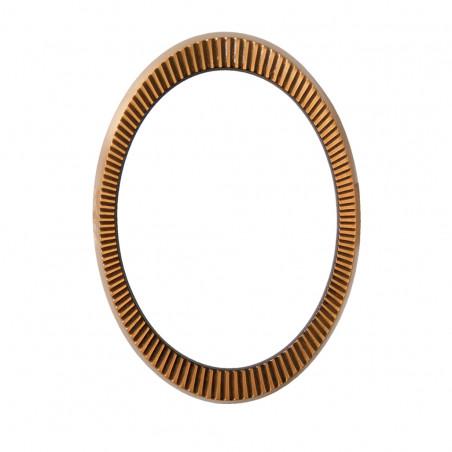 Bronz Ovalis Keret 9x12 cm