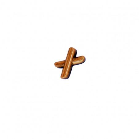Semn Bronz Cruciulita pentru Litere Cursiv Espresso
