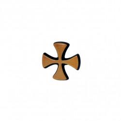 Semn Bronz Cruciulita 3cm pentru Litere Roman