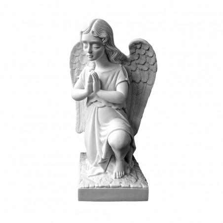 Marvany porbol angyal szobor (jobb) 27x14cm