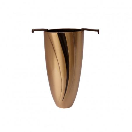 Bronz vaza 16 cm