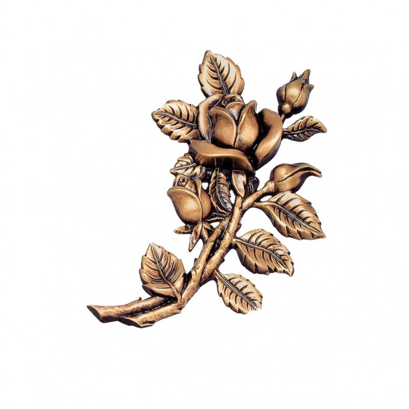 Floare bronz Inaltime 18 x latime 13 x Adangime 2 cm