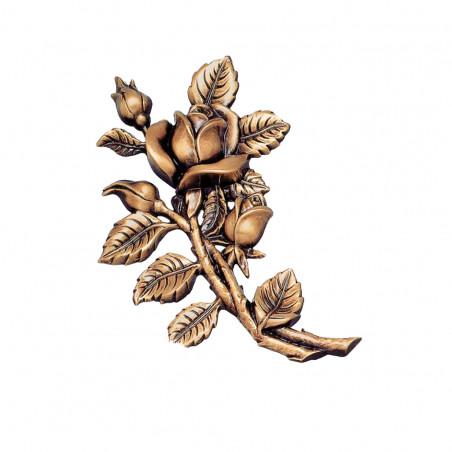 Floare bronz 18 x 13 x 2 cm