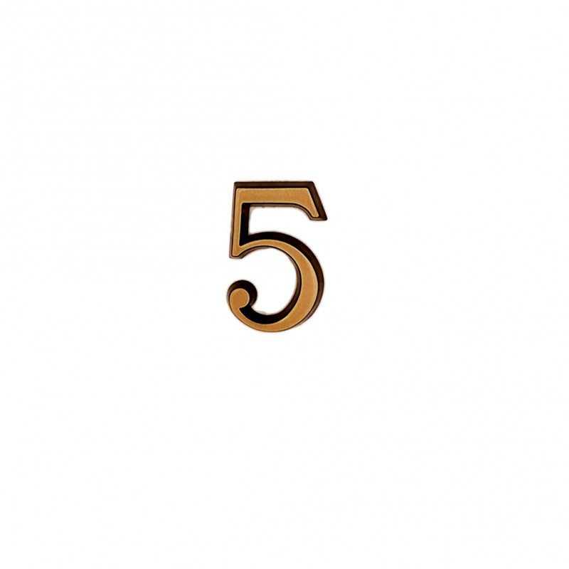 Cifra Bronz 5 Roman 3 cm