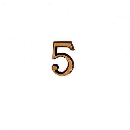 Cifra Bronz 5 Roman 4 cm