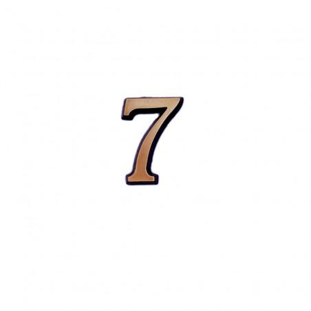 Cifra Bronz 7 Roman 2.5 cm