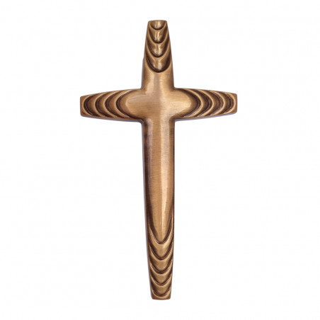 Cruce Bronz  25 x 14 cm