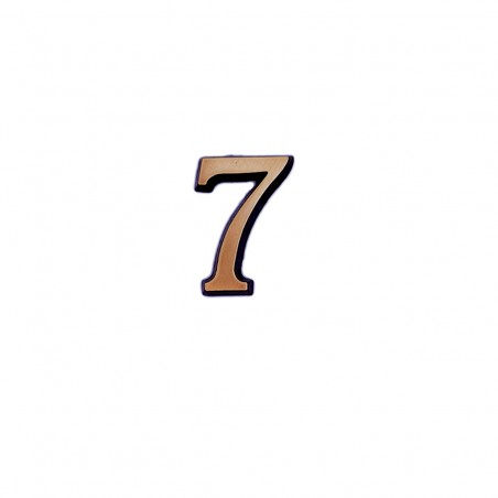 Cifra Bronz 7 Roman 4 cm