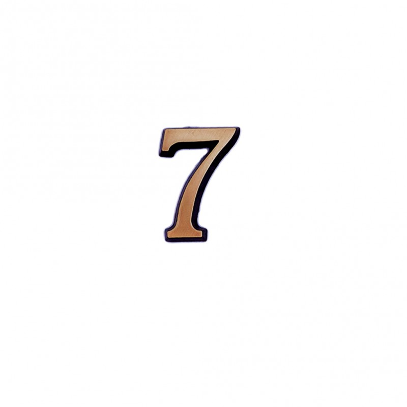 Cifra Bronz 7 Roman 5 cm
