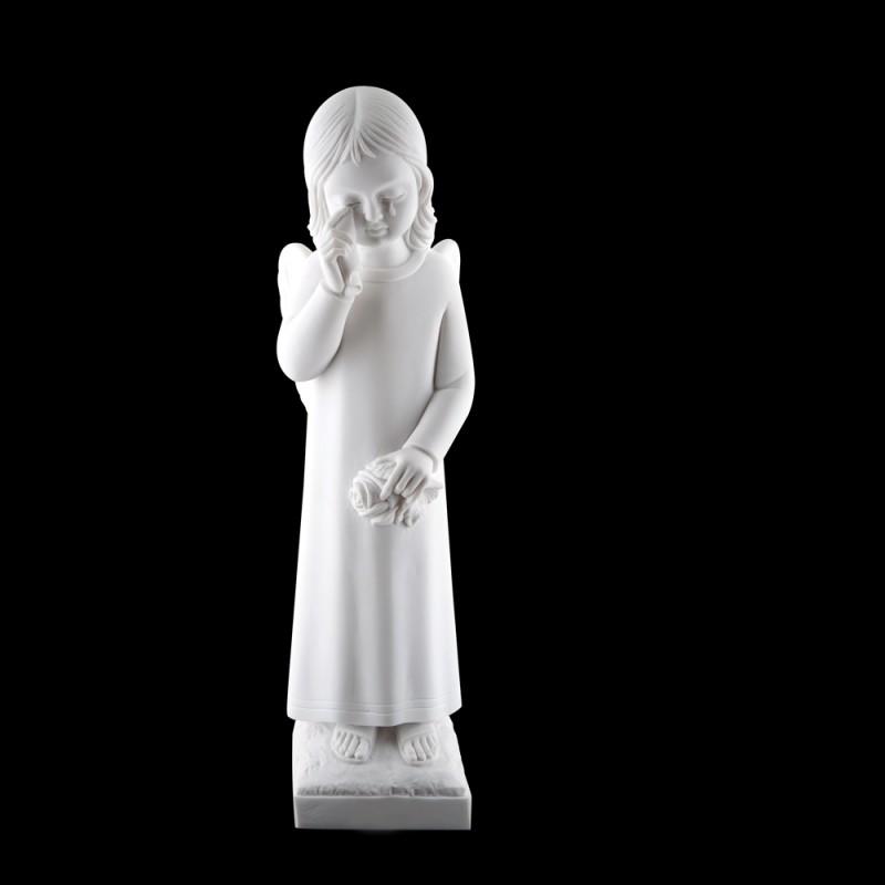 Statuie Inger Marmura Reconstituita Inaltime 35 x Latime 11 cm