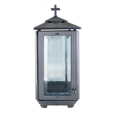 Otvozet mecses Ezust szinu Aluminium mecses m 31 cm sz 13 cm melyseg 13 cm