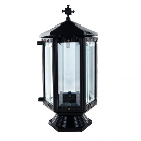 Otvozet Aluminium mecses Fekete m 31 sz 13 cm melyseg 13 cm