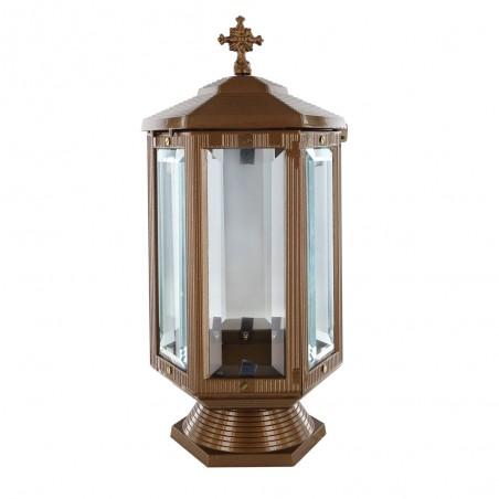 Otvozet mecses Arany szinu Aluminium mecses m 31 cm sz 13 cm melyseg 13 cm