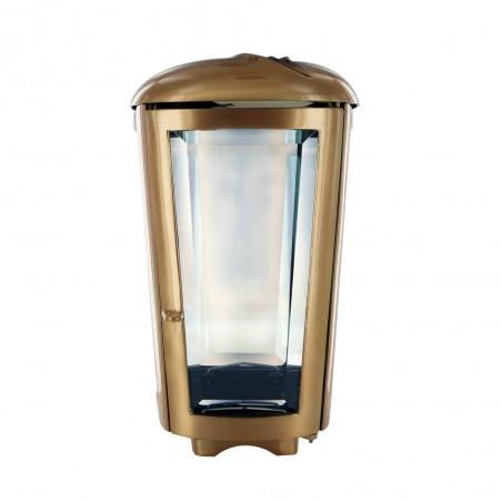 Felinar bronz H 26 cm