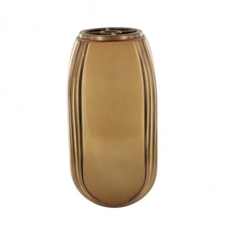 Bronz vaza 26.5 cmx 13.5 cm