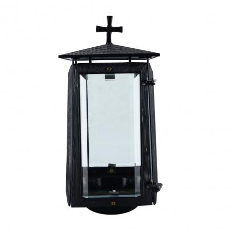 Bronzlmecses Feketere festett bronzlampas m 28 cm sz 12.5