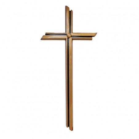 Cruce Bronz cu Aplicatie 40 x 18cm